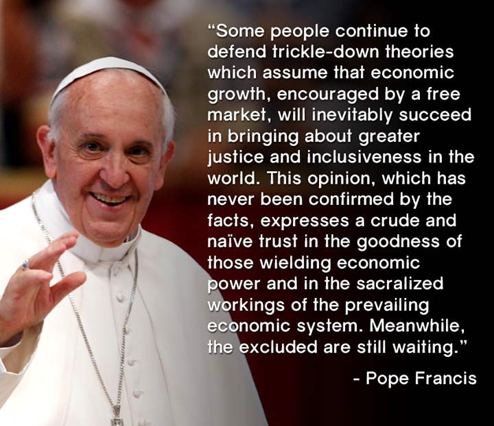 Fox Spins The Pope Shields Ultra Rich Crazy Talk The