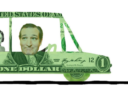 Cruz'n with Ted and Ayn into the Arms of Big Government