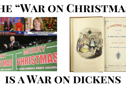 """The """"War on Christmas"""" is really the War on Dickens"""